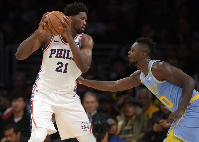 Philadelphia 76ers vs. Los Angeles Lakers - 12/7/17 NBA Pick, Odds, and Prediction