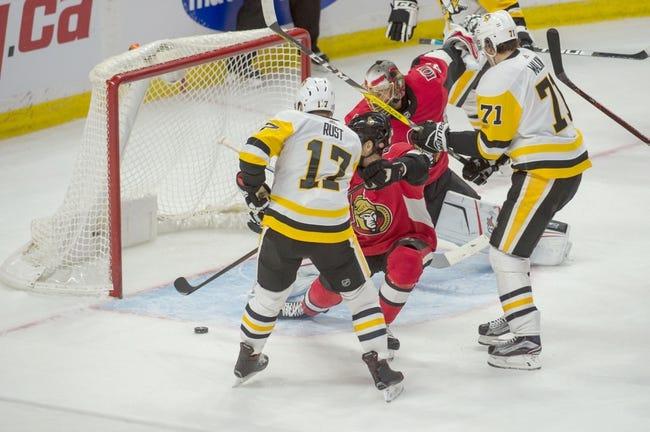 Pittsburgh Penguins vs. Ottawa Senators - 2/13/18 NHL Pick, Odds, and Prediction