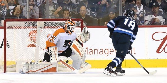 Winnipeg Jets vs. Philadelphia Flyers - 12/9/18 NHL Pick, Odds, and Prediction