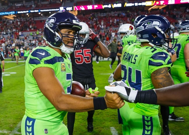 Arizona Cardinals at Seattle Seahawks - 12/31/17 NFL Pick, Odds, and Prediction