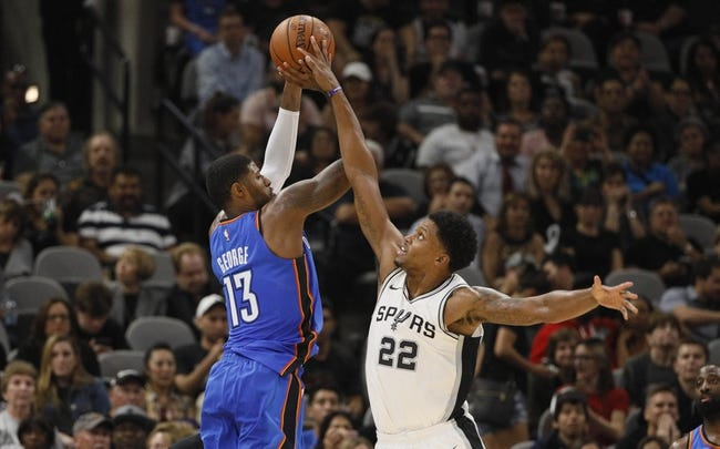 Oklahoma City Thunder vs. San Antonio Spurs - 12/3/17 NBA Pick, Odds, and Prediction