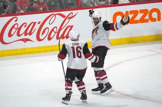 Arizona Coyotes vs. Ottawa Senators - 3/3/18 NHL Pick, Odds, and Prediction