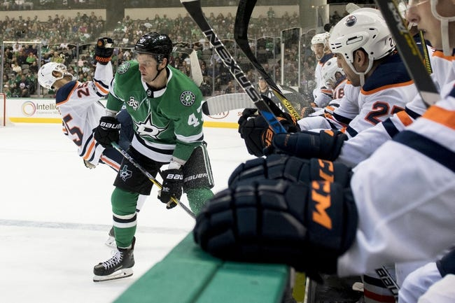 Dallas Stars vs. Edmonton Oilers - 1/6/18 NHL Pick, Odds, and Prediction
