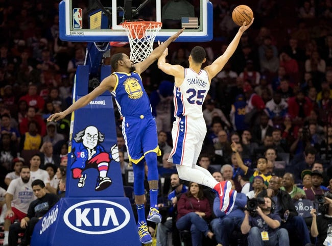 NBA   Philadelphia 76ers at Golden State Warriors