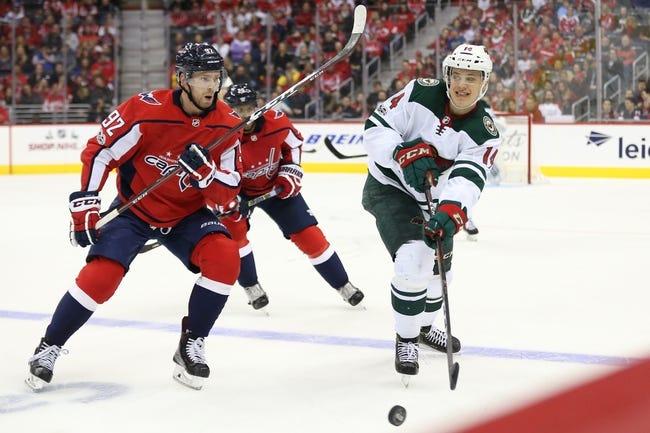 Minnesota Wild vs. Washington Capitals - 2/15/18 NHL Pick, Odds, and Prediction