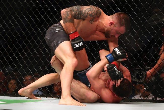Darren Elkins vs. Alexander Volkanovski UFC Fight Night 133 Pick, Preview, Odds, Prediction - 7/14/18