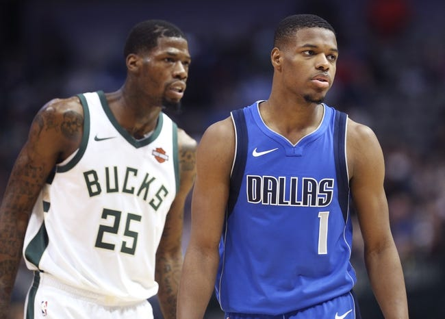 Milwaukee Bucks vs. Dallas Mavericks - 12/8/17 NBA Pick, Odds, and Prediction