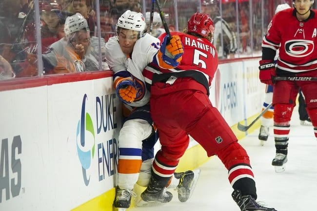 Carolina Hurricanes vs. New York Islanders - 2/16/18 NHL Pick, Odds, and Prediction