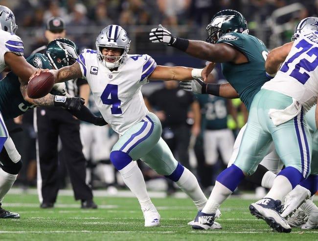 Philadelphia Eagles vs. Dallas Cowboys - 12/31/17 NFL Pick, Odds, and Prediction