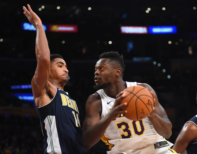Denver Nuggets vs. Los Angeles Lakers - 12/2/17 NBA Pick, Odds, and Prediction