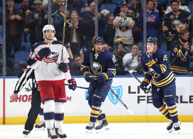 Buffalo Sabres vs. Columbus Blue Jackets - 1/11/18 NHL Pick, Odds, and Prediction