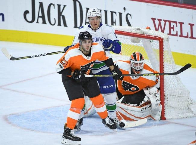 Vancouver Canucks vs. Philadelphia Flyers - 12/7/17 NHL Pick, Odds, and Prediction