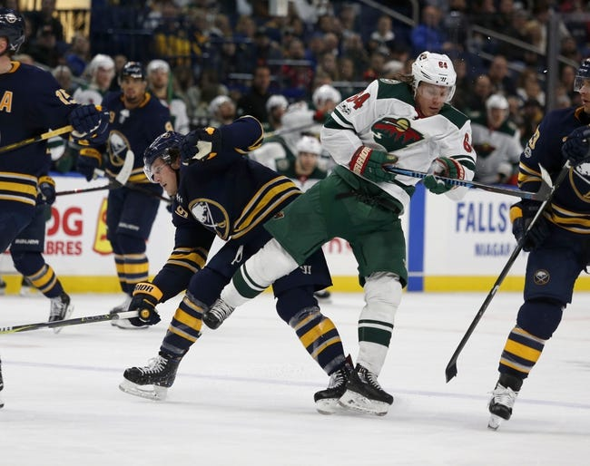 Minnesota Wild vs. Buffalo Sabres - 1/4/18 NHL Pick, Odds, and Prediction
