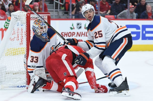 Detroit Red Wings vs. Edmonton Oilers - 11/3/18 NHL Pick, Odds, and Prediction