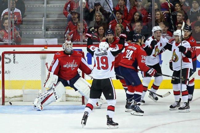 NHL | Washington Capitals (21-10-3) at Ottawa Senators (15-17-4)