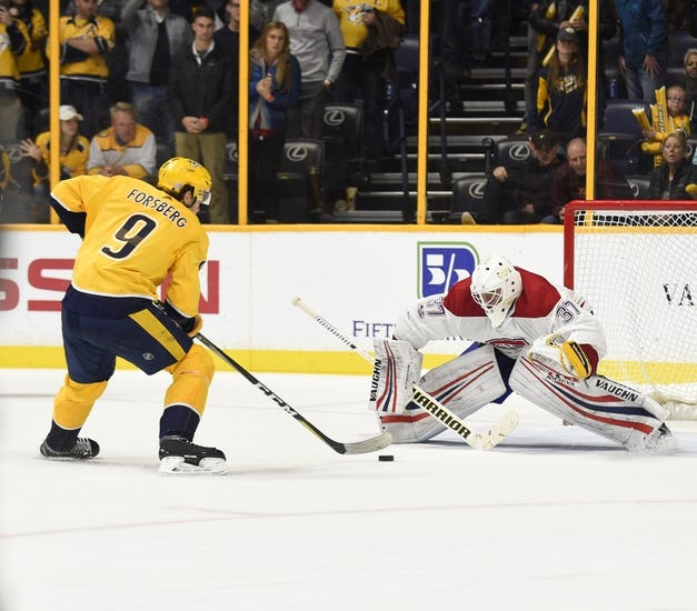 Montreal Canadiens vs. Nashville Predators - 2/10/18 NHL Pick, Odds, and Prediction