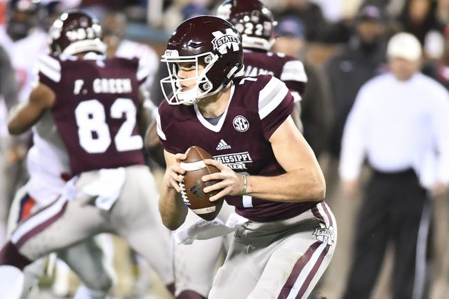 Mississippi State vs. Stephen F. Austin - 9/1/18 College Football Pick, Odds, and Prediction