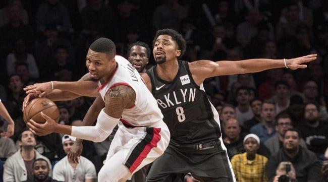 NBA | Portland Trail Blazers at Brooklyn Nets