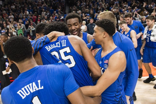 Duke vs. South Dakota - 12/2/17 College Basketball Pick, Odds, and Prediction