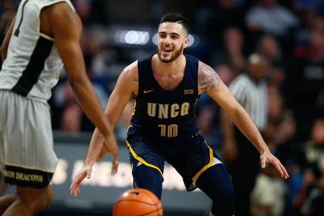NCAA BB | East Tennessee State Buccaneers (22-4) at UNC Greensboro Spartans (19-6)