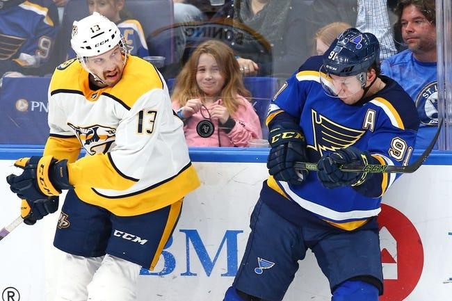 St. Louis Blues vs. Nashville Predators - 12/27/17 NHL Pick, Odds, and Prediction