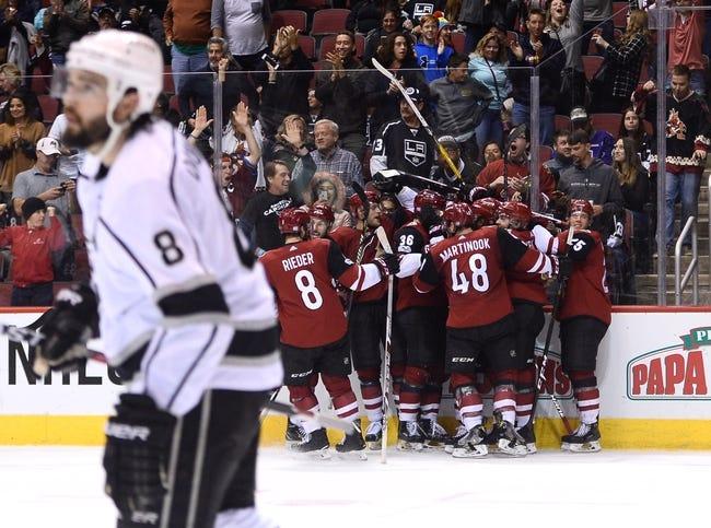 NHL | Arizona Coyotes (12-30-9) at Los Angeles Kings (27-19-5)