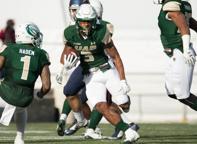 Rice vs. UAB - 10/13/18 College Football Pick, Odds, and Prediction