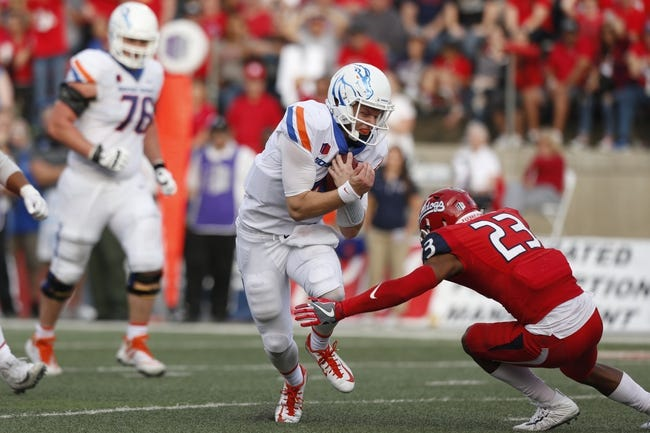 Boise State vs. Fresno State MWC Championship - 12/2/17 College Football Pick, Odds, and Prediction