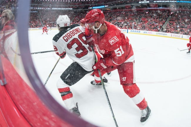 New Jersey Devils vs. Detroit Red Wings - 12/27/17 NHL Pick, Odds, and Prediction