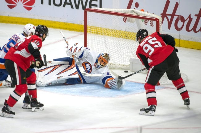 New York Islanders vs. Ottawa Senators - 12/1/17 NHL Pick, Odds, and Prediction