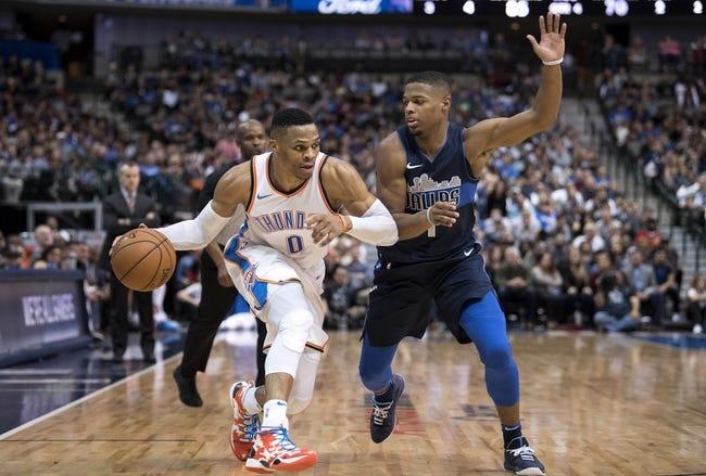 Oklahoma City Thunder vs. Dallas Mavericks - 12/31/17 NBA Pick, Odds, and Prediction