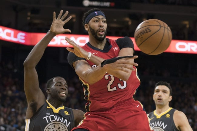 New Orleans Pelicans vs. Golden State Warriors - 12/4/17 NBA Pick, Odds, and Prediction