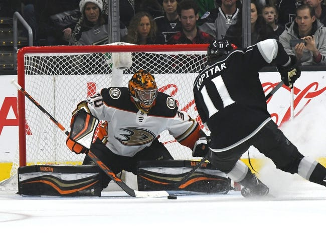 Los Angeles Kings vs. Anaheim Ducks - 1/13/18 NHL Pick, Odds, and Prediction