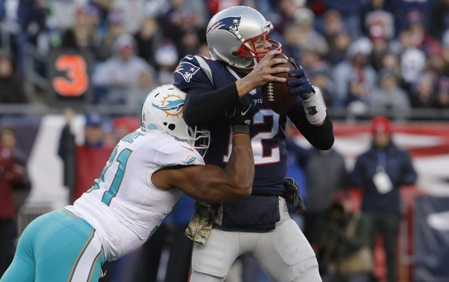 Miami Dolphins vs. New England Patriots - 12/11/17 NFL Pick, Odds, and Prediction