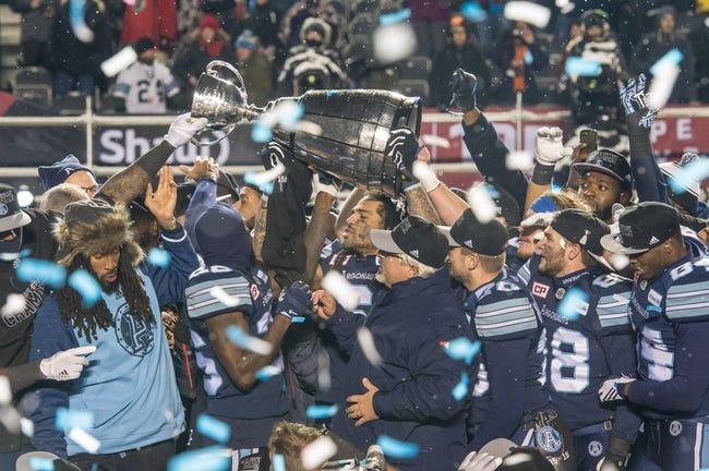 Toronto Argonauts vs. Ottawa Redblacks CFL Pick, Odds, Prediction - 8/2/18