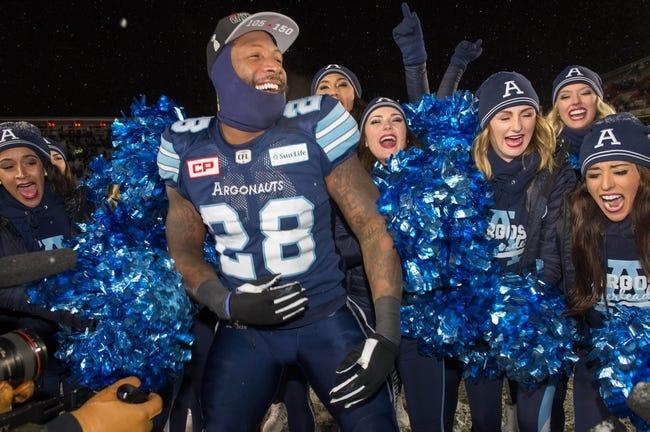 Toronto Argonauts vs. Winnipeg Blue Bombers CFL Pick, Odds, Prediction - 7/21/18