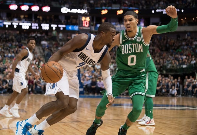 Boston Celtics vs. Dallas Mavericks - 12/6/17 NBA Pick, Odds, and Prediction
