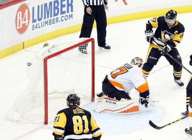 Philadelphia Flyers vs. Pittsburgh Penguins - 1/2/18 NHL Pick, Odds, and Prediction