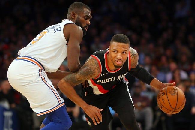 Portland Trail Blazers vs. New York Knicks - 3/6/18 NBA Pick, Odds, and Prediction