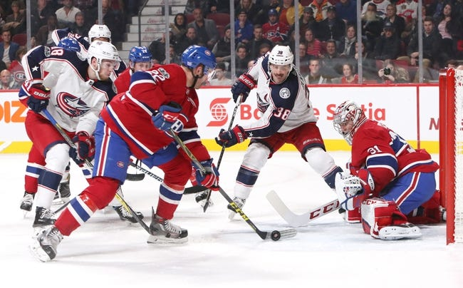 Columbus Blue Jackets vs. Montreal Canadiens - 3/12/18 NHL Pick, Odds, and Prediction