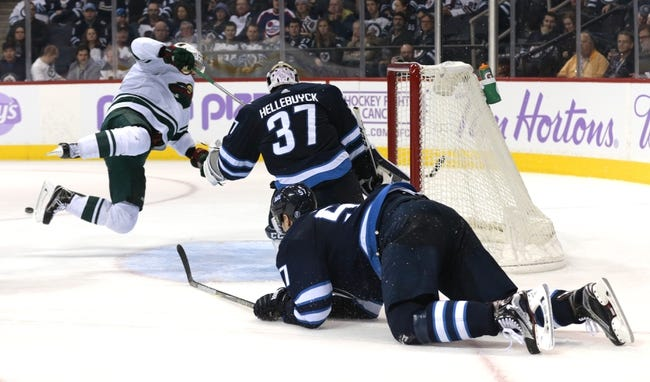 Minnesota Wild vs. Winnipeg Jets - 1/13/18 NHL Pick, Odds, and Prediction