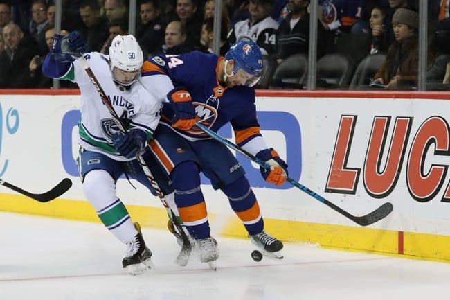 Vancouver Canucks vs. New York Islanders - 3/5/18 NHL Pick, Odds, and Prediction