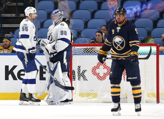 NHL | Tampa Bay Lightning (38-15-3) at Buffalo Sabres (16-30-10)