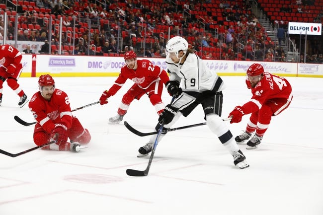 Los Angeles Kings vs. Detroit Red Wings - 3/15/18 NHL Pick, Odds, and Prediction