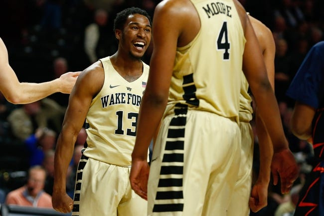 Wake Forest vs. Richmond - 12/2/17 College Basketball Pick, Odds, and Prediction