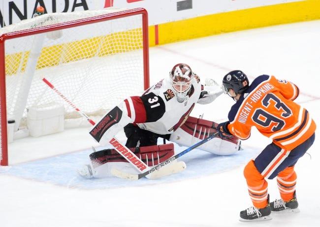 Arizona Coyotes vs. Edmonton Oilers - 1/12/18 NHL Pick, Odds, and Prediction
