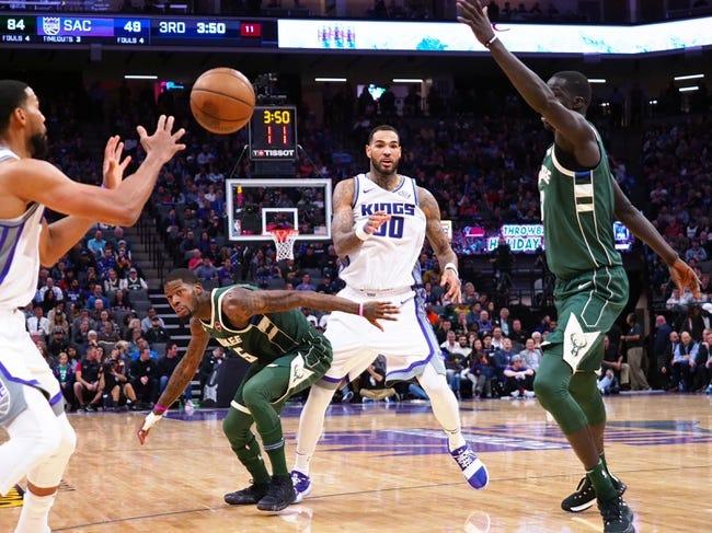 Milwaukee Bucks vs. Sacramento Kings - 12/2/17 NBA Pick, Odds, and Prediction