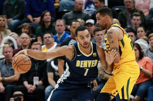 Denver Nuggets vs. Utah Jazz - 12/26/17 NBA Pick, Odds, and Prediction