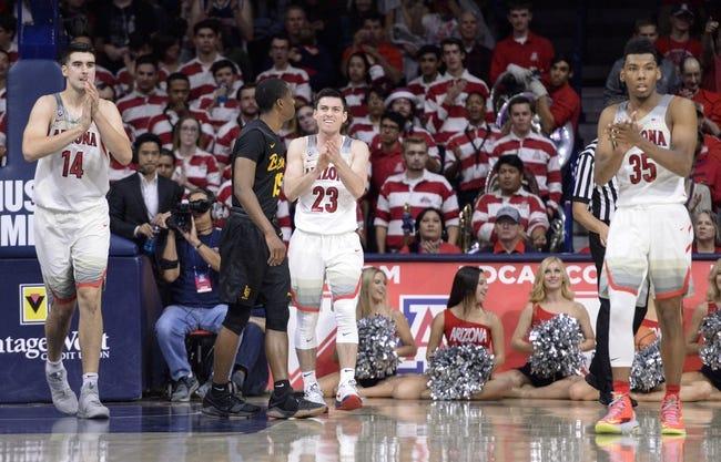 UNLV vs. Arizona - 12/2/17 College Basketball Pick, Odds, and Prediction