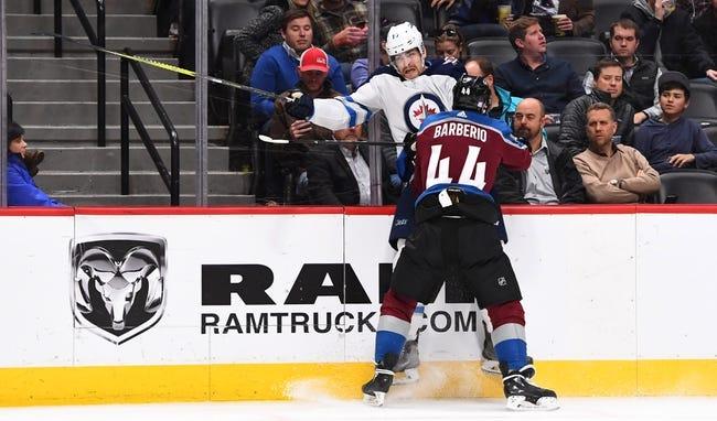 Colorado Avalanche vs. Winnipeg Jets - 1/2/18 NHL Pick, Odds, and Prediction